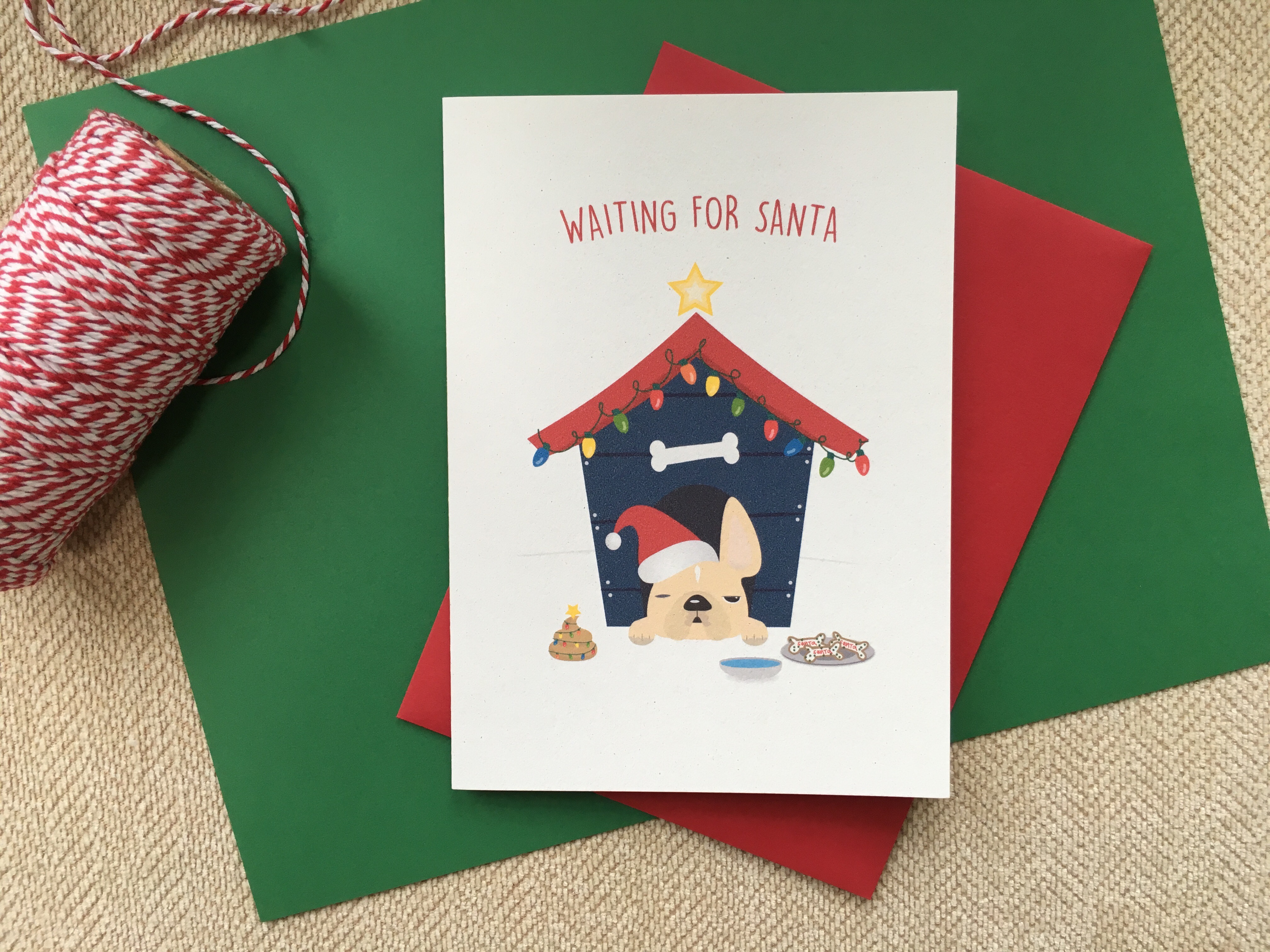 French Bulldog Holiday Card Collection – FRENCH BULLDOG LOVE