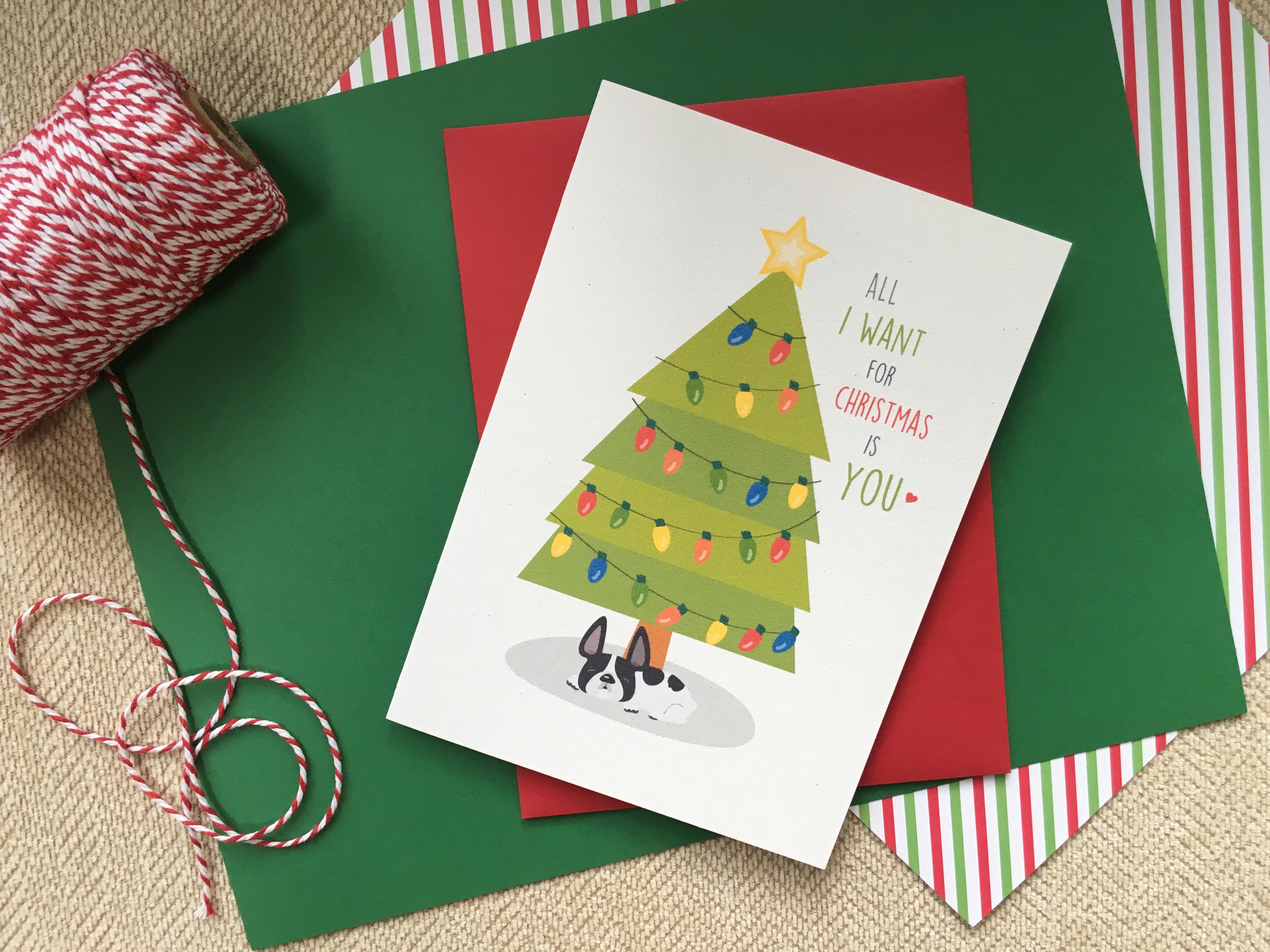 French Bulldog Holiday Card Collection – FRENCH BULLDOG LOVE